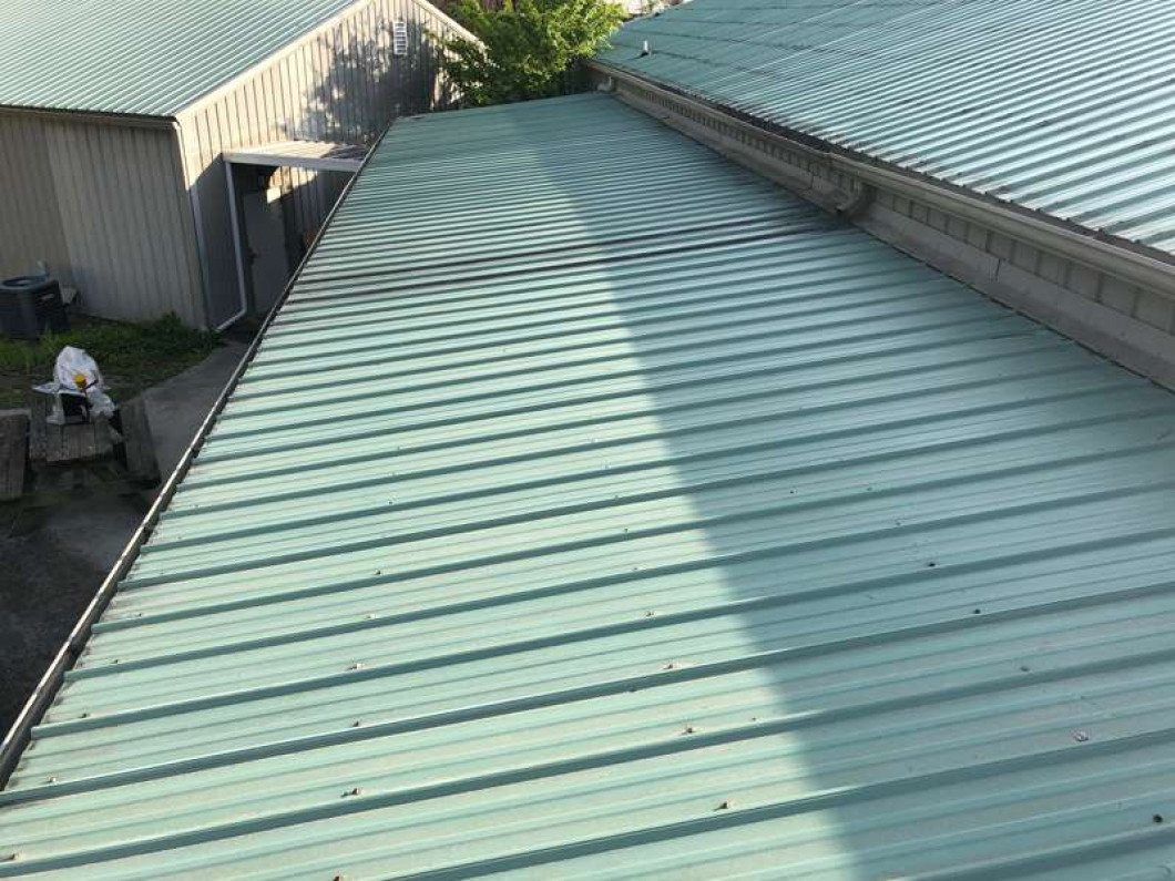 We'll put a metal roof coating on your residential or commercial roof